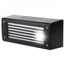 Fumagalli Extraleti 300-GL 2x3W 4000K Black LED Brick Light