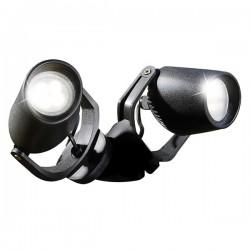 Fumagalli MiniTommy-EL Twin 2x3.5W 3000K Black LED Wall Light