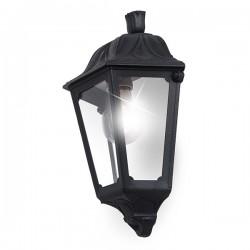 Fumagalli Iesse 6W 2700K Black LED Half Lantern