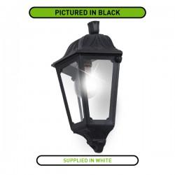 Fumagalli Iesse 6W 2700K White LED Half Lantern