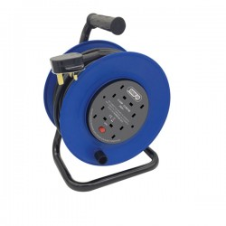 Selectric 4 Gang 13A Heavy Duty Extension Reel with 25M Lead