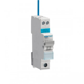 Hager Electronic 1P 6kA B Curve-25A, 30mA Type A (AC & Pulsating DC Sensitive) 1M RCBO