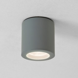 Astro Kos Round Textured Grey Bathroom Downlight