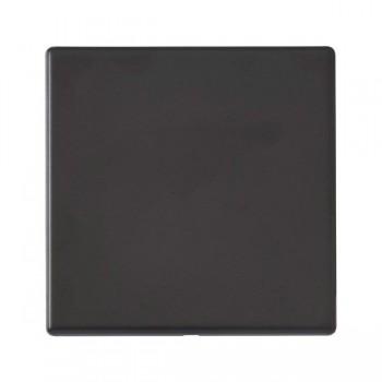 Hamilton Hartland G2 Matt Black Single Blank Plate