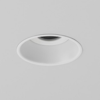Astro Minima IP65 Round White Fire Rated Bathroom LED Downlight