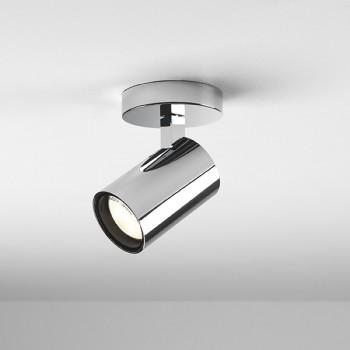 Astro Aqua Single Polished Chrome Bathroom Spotlight