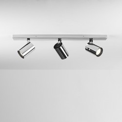 Astro Aqua Triple Bar Polished Chrome Bathroom Spotlight