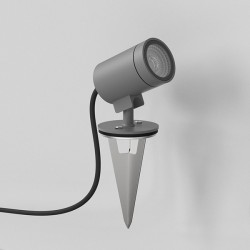 Astro Bayville Textured Grey Outdoor LED Spike Light