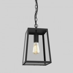Astro Calvi 305 Textured Black Outdoor Pendant Light
