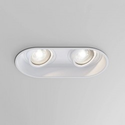 Astro Minima Twin GU10 Matt White Downlight