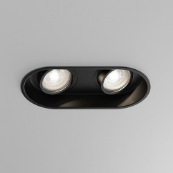 Astro Minima Twin GU10 Matt Black Downlight