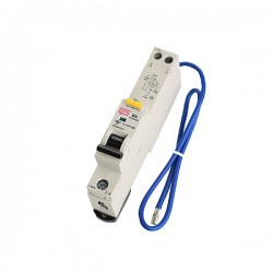 FuseBox 10A 30mA B Curve Type A 6kA Single Pole RCBO