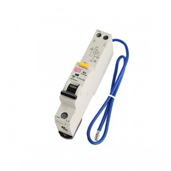 FuseBox 16A 30mA B Curve Type A 6kA Single Pole RCBO