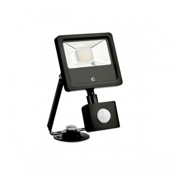 Collingwood Colour Switchable 10W LED Floodlight with PIR