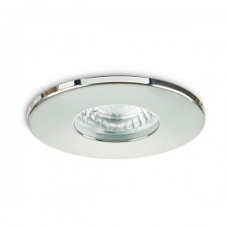 Collingwood Fire-Rated IP65 Fixed GU10 Downlight with Polished Chrome Bezel