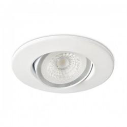 Collingwood H4 Lite 3000K Dimmable Matt White Adjustable LED Downlight