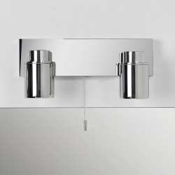 Astro Como Twin Polished Chrome Bathroom Spotlight