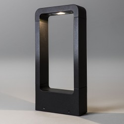 Astro Napier 300 Textured Black Outdoor LED Bollard Light