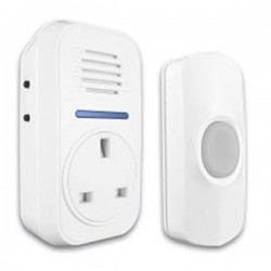 Uni-Com Smart Chime Plug-Through Door Chime