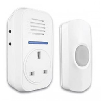 Uni-Com Smart Chime Plug-Through Door Chime