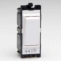 Varilight PowerGrid White 10A 2 Way Switch Module