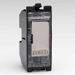 Varilight PowerGrid Iridium Black 13A Fuse Module