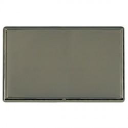 Hamilton Linea-Rondo CFX Black Nickel/Black Nickel Double Blank Plate
