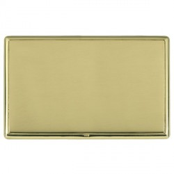 Hamilton Linea-Rondo CFX Polished Brass/Polished Brass Double Blank Plate