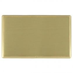 Hamilton Linea-Rondo CFX Satin Brass/Satin Brass Double Blank Plate