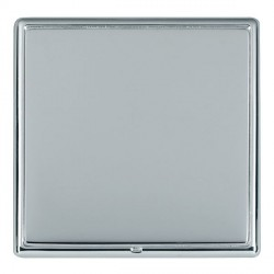 Hamilton Linea-Rondo CFX Bright Chrome/Bright Steel Single Blank Plate
