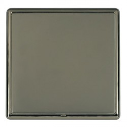 Hamilton Linea-Rondo CFX Black Nickel/Black Nickel Single Blank Plate