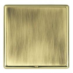 Hamilton Linea-Rondo CFX Polished Brass/Antique Brass Single Blank Plate