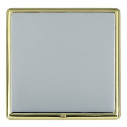 Hamilton Linea-Rondo CFX Polished Brass/Bright Steel Single Blank Plate