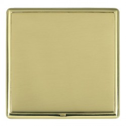 Hamilton Linea-Rondo CFX Polished Brass/Polished Brass Single Blank Plate