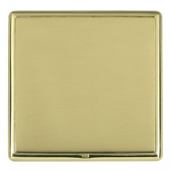 Hamilton Linea-Rondo CFX Polished Brass/Polished Brass Single Blank Plate