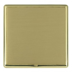 Hamilton Linea-Rondo CFX Polished Brass/Satin Brass Single Blank Plate