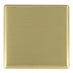 Hamilton Linea-Rondo CFX Satin Brass/Satin Brass Single Blank Plate