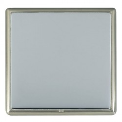 Hamilton Linea-Rondo CFX Satin Nickel/Bright Steel Single Blank Plate