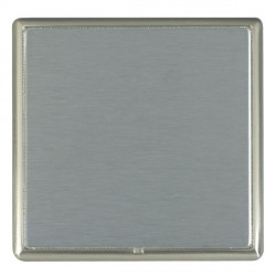 Hamilton Linea-Rondo CFX Satin Nickel/Satin Steel Single Blank Plate
