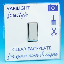 Varilight Freestyle 1 Gang 10A 2 Way Switch