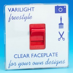 Varilight Freestyle 1 Gang 45A Cooker Switch
