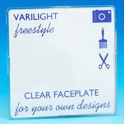 Varilight Freestyle 1 Gang Blank Plate