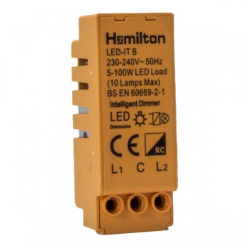 Hamilton LEDITB100 LED 2 Way Smart Dimmer