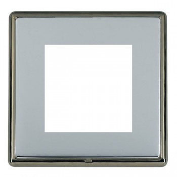 Hamilton Linea-Rondo CFX Black Nickel/Bright Steel Single Plate c/w 2 EuroFix Apertures + Grid