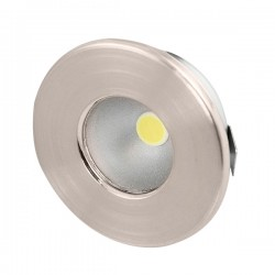 Ovia Nova 0.8W 6000K Satin Chrome LED Starlight