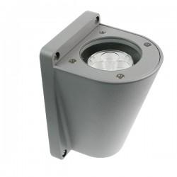 Ovia Durus 3W 3000K Anthracite Grey LED Wall Light