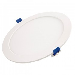 Ovia Polypanel 12W 3000K White Fixed LED Downlight