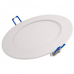 Ovia Alupanel 9W 3000K White Fixed LED Downlight