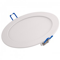Ovia Alupanel 12W 3000K White Fixed LED Downlight