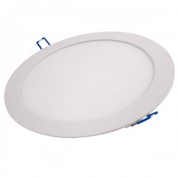 Ovia Alupanel 18W 3000K White Fixed LED Downlight